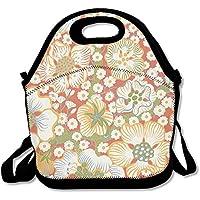 Charming Blumen Praktische Lunch Bag Picknick Tasche Rucksack Bag preisvergleich bei kinderzimmerdekopreise.eu