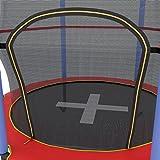 Ultrasport Indoortrampolin Jumper 140 cm inkl. Sicherheitsnetz - 3