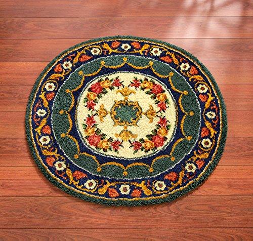 Kit punto croce Vervaco Adorno persiani ovale 54 x 50 cm-Mat - Ovale Mat