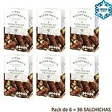 SALCHICHAS VEGETARIANAS 300 GR Pack de 6