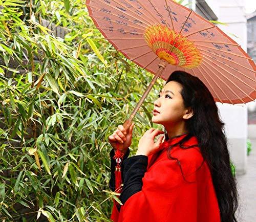 China Kostüm Tanz - Brautaccessoires Regenschirme Sonnenschirme Handgemachte alte Öl Papier Regenschirm Regenschirm Dekoration Tanz Regenschirm Kostüm Cheongsam Modell dekorativen Regenschirm