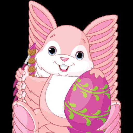 Mobile Korb (Osterei Dekoration für Kinder und Erwachsene - Spaß und Ausbildung Kleid und Dekoration Lernspiel für Vorschul oder Kindergarten Kleinkinder, Jungen und Mädchen jeden Alters)