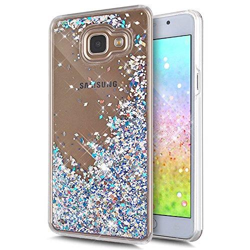 galaxy-a5-2016-caseikasus-galaxy-a5-2016-liquid-glitter-casesliver-crystal-clear-hard-pc-quicksand-b