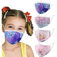 I Bambini Possono Usare, Cotone, Lavabile e Riutilizzabile, Stile 4 Pezzi, Design di Vari Elementi di Tendenza