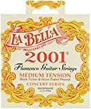 Labella L2001FM Flamenco Jeu de Cordes pour Guitare Medium Tension
