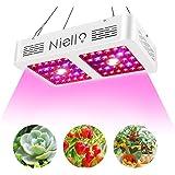 Niello 600W CREE COB LED élèvent la lumière, Lampe de culture à spectre complet avec guirlande, Lampe de culture pour Plantes