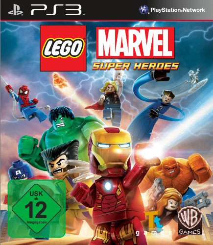 Lego Marvel: Super Heroes - [PlayStation - Avengers Video Games Lego