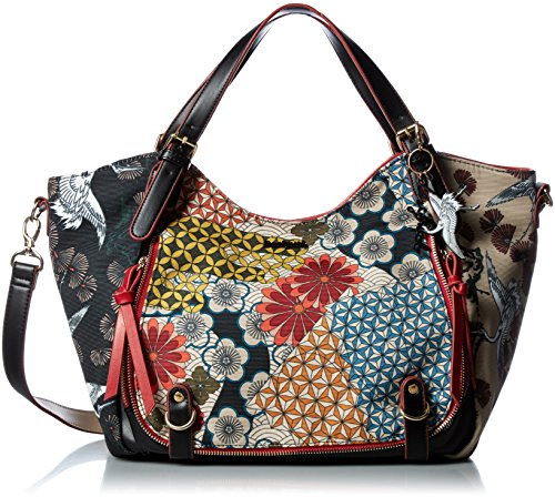 Desigual Designer Tasche - Japan Fresh Rotterdam - Negro
