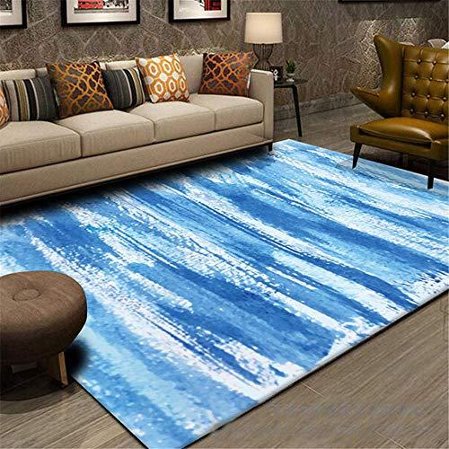 Tappeti soggiorni morbidi tappeti blu camere moderne a buon mercato tappeti zona tappeto astratto cucine antiscivolo grandi corridori tappeto camera dei bambini