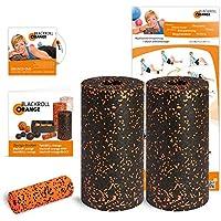 Preisvergleich für Blackroll Orange Die Faszienrolle Twin-Set Standard (inkl. Übungs-Poster und -Booklet)