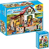 PLAYMOBIL® Country 2er Set 6927 6950 Ponyhof + Spaziergang mit Pony