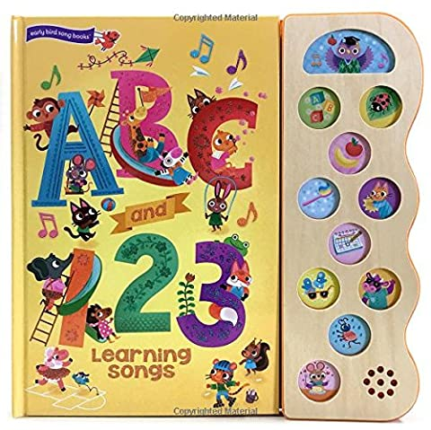 ABC and 123 Learning Songs (11 Button Sound Book)