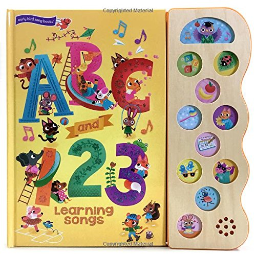 ABC and 123 Learning Songs (11 Button Sound Book) por Beatrice Costamagna