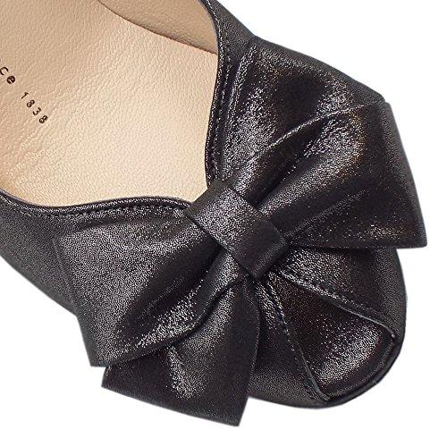 Peter Kaiser Stila Ladies Peep Toe Scarpe in Stella Nera Black Star