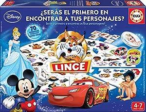Educa Borrás Lince Edición Disney, 70 imágenes (16585)