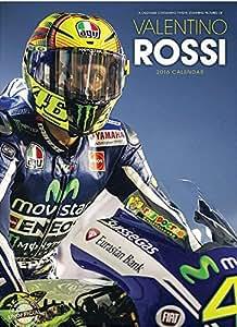 CALENDRIER 2016 VALENTINO ROSSI - GRAND PRIX MOTO - MOTO GP + offert un agenda de poche 2016