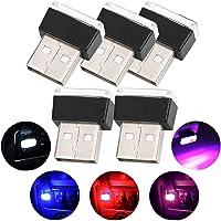 Luci per auto a LED per auto, illuminazione per illuminazione a 5 pezzi USB Illuminazione per interni Decorazione per…