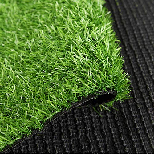 Erba artificiale, Zolla Patch 2 Centimetri Erba Sintetica Mat Lush Disco Pet Turf Tappeto erboso Falso for Indoor Outdoor Patio Decor (Size : 2x0.5m)