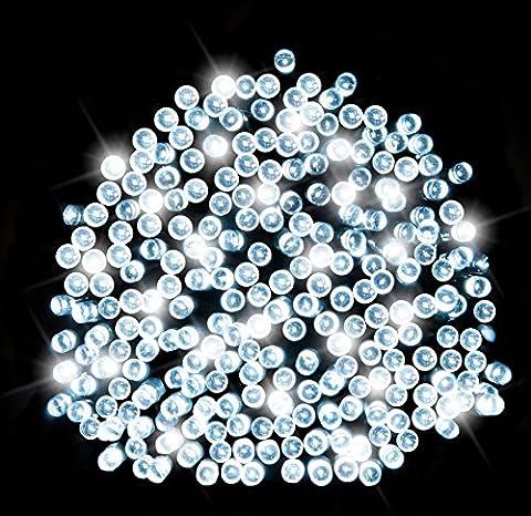 200 Bright White LED Solar Fairy