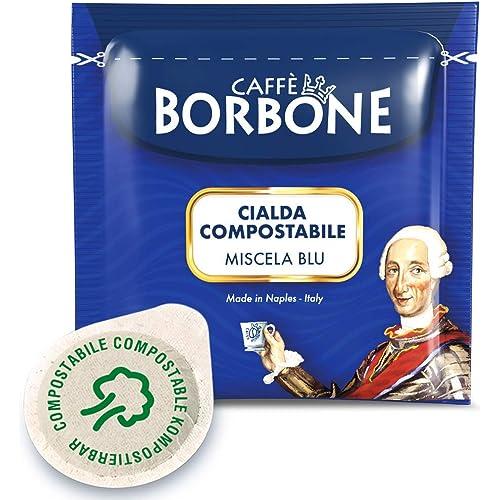 Caffè Borbone Cialde Miscela Blu - Confezione da 100 Cialde - Compatibili E.S.E. dm 44