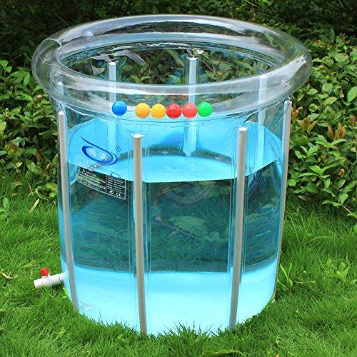 Pool Infant Umweltschutz verdickte transparente Wanne Innen- und Außenpool Legierung bleibt Babyschwimmbad (Farbe optional) ( Farbe : B )