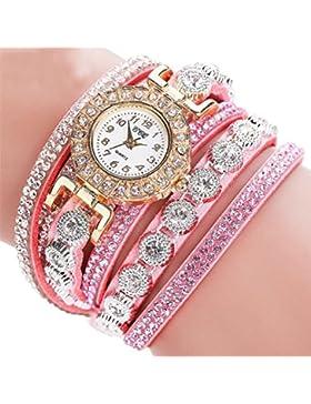 Frauen Armband Uhr, Kingwo CCQ Frauen arbeiten beiläufiges AnalogQuartz Frauen Rhinestone Uhr Armband Uhr Geschenk...
