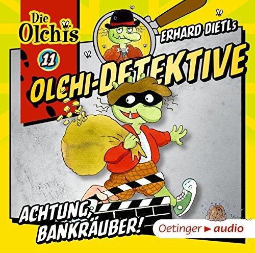 Olchi-Detektive 11 - Achtung, Bankräuber! (CD): Hörspiel, 50 min.