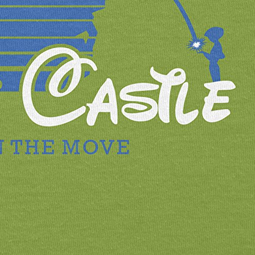 Texlab–Howl S Castle–sacchetto di stoffa Verde chiaro