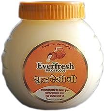 Everfresh Milk & Foods - Pure Danedar Desi Ghee (Bilona Ghee) 500ml jar