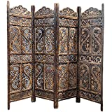 Aarsun Woods Partition Screen / Room Divider (Mango Wood)