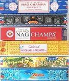 Räucherstäbchen Set Satya Nag Champa Aastha Goloka