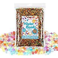 400g perlas de agua perlas de de cristal perlas de jalea colores mezclados arco iris (40,000pcs) Perlas de agua de cubewit para orbeez spa, juguetes, decoración de la boda Aqua perlen floreros, etc