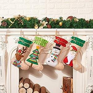 LLLKKK Calcetín de Navidad,Home Bolsa