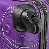 Leonardo-Koffer-Reisegepck-Trolley-Handgepck-Hardschale-Boardcase-34-x-215-x-46-cm
