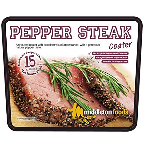 Pepper Steak Coater Glaze / 250g Per Pack / Seasoning / Spice / Meat rub