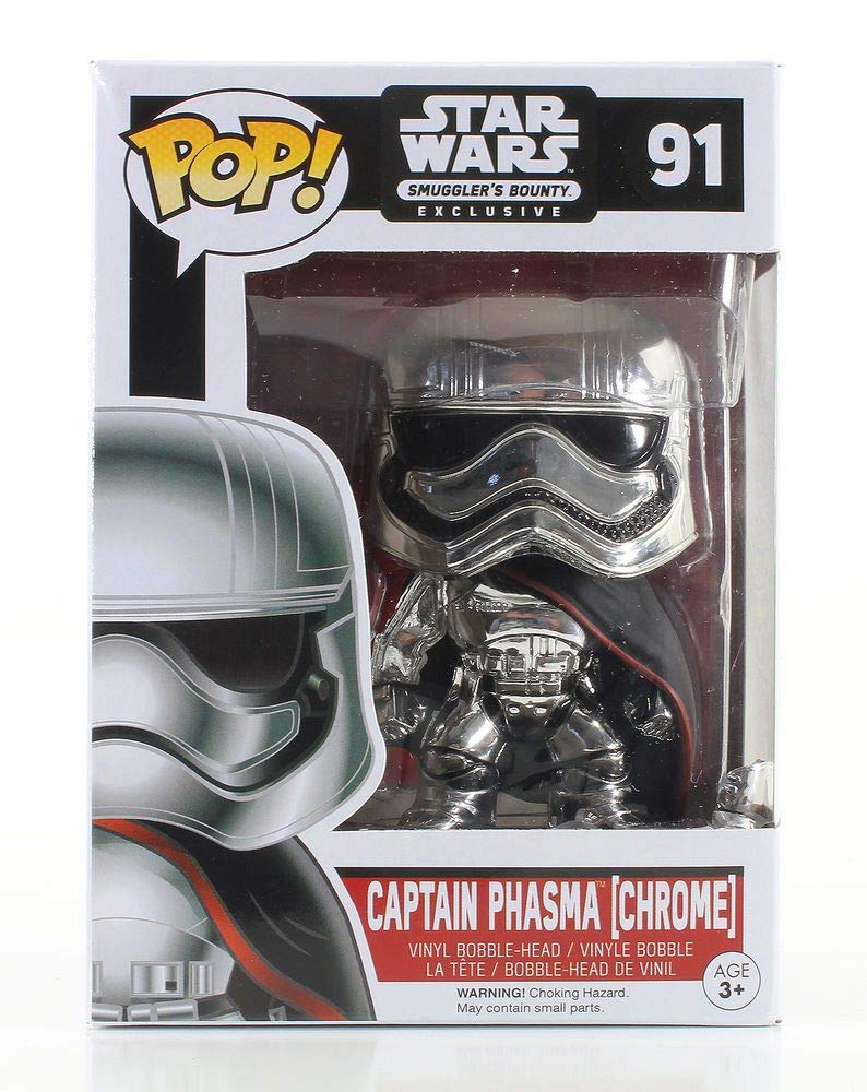 Funko Pop Capitán Phasma Smuggler's Bounty (Star Wars 91) Funko Pop Star Wars