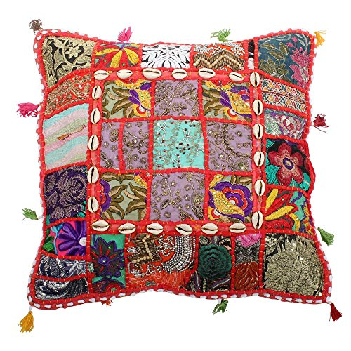 albena shop 72-105 Lavila Kissenbezug indisches Deko-Kissen (Multicolor) - Multi Color Kissen
