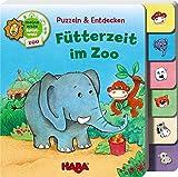 Puzzeln und Entdecken - Fütterzeit im Zoo