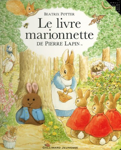 Le Livre marionnette de Pierre Lapin