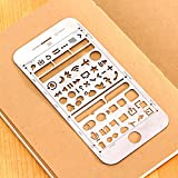 amupper IOS UI UX Vorlagen Größe für iPhone 66S Plus für Interaktiven Design, metall, Size6/6S