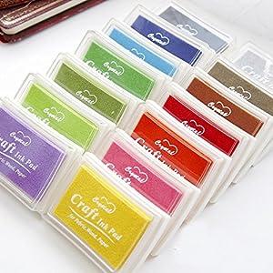 Disok Lote 15 Tintas Para Sellos Multicolor (9650
