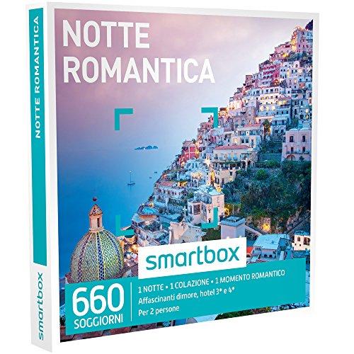Smartbox - cofanetto regalo - notte romantica - 660 soggiorni in dimore, hotel 3* e 4*