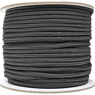 normani Allzweck-Outdoor-Seil 5 mm x 60 Meter Farbe Black