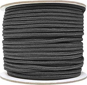 Allzweck-Outdoor-Seil 5 mm x 60 Meter Farbe Black