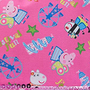 61U6LiJqj0L. SS300  - Peppa Pig - Mochila de lujo estilo Roxy, rosa (Rosa) - MNCK9742