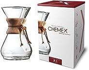 Coffee Circle Classic CM-8A Kaffee Zubereiter, Glas, Transparent