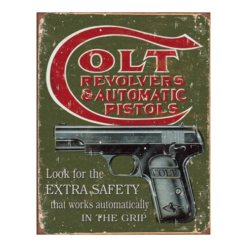 61U6jOCO6tL. SS500  - Tin Sign Colt Extra Safety.