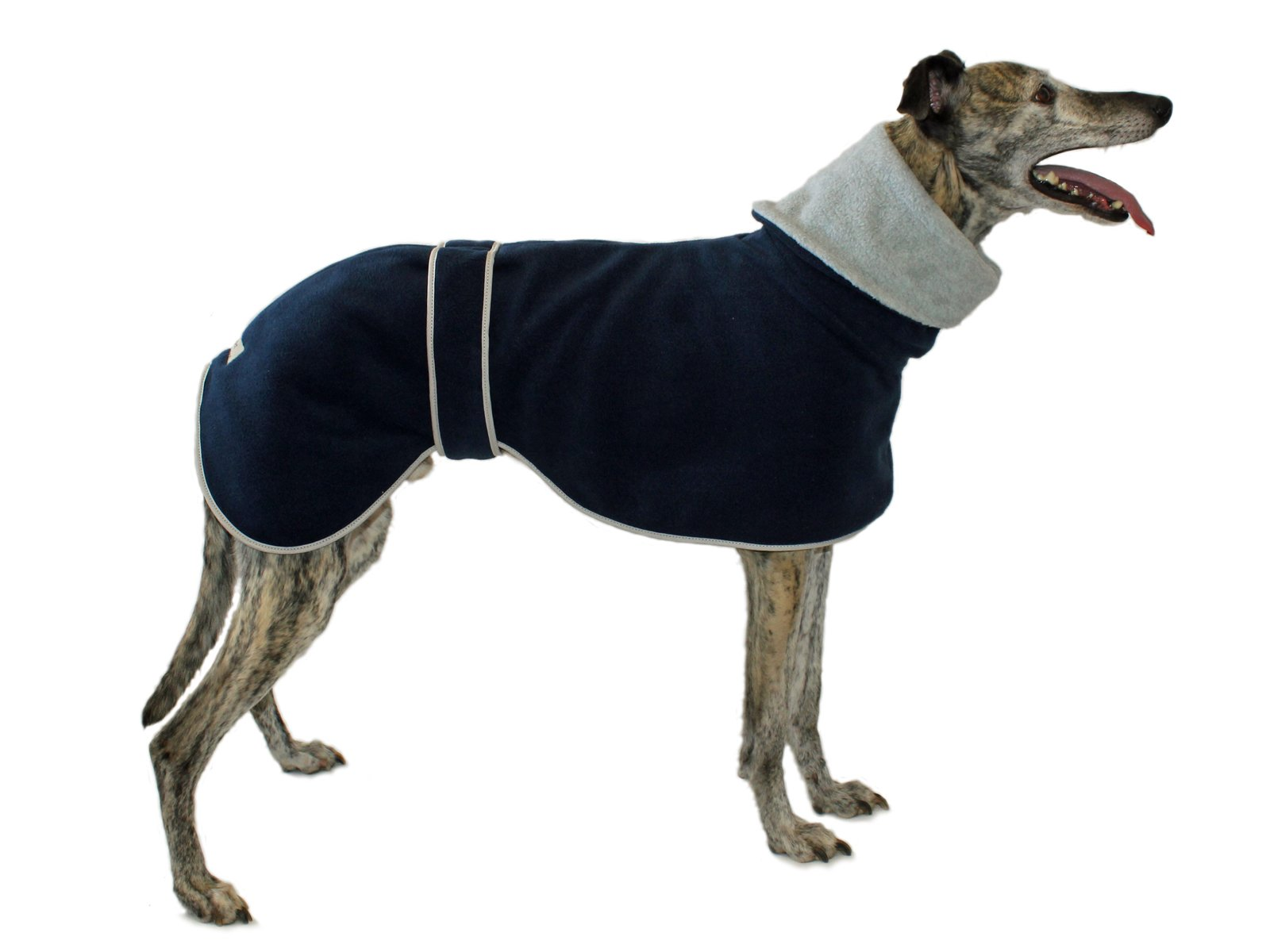 Cosipet Greyhound Polo Coat, 71 cm, Blue