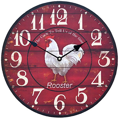decorative-wall-clock-rooster-cock-shabby-chic-style-red-color-round-shape-34-cm