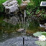 Sunspray® SE 360 - Fontana solare per piccoli stagni e contenitori, con batteria di ricambio e flusso della pompa regolabile